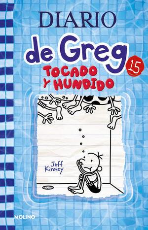 Diario de Greg 15. Tocado y hundido