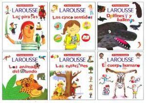 COL. MI PEQUEÑA ENCICLOPEDIA LAROUSSE (6 TITULOS DIFERENTES)