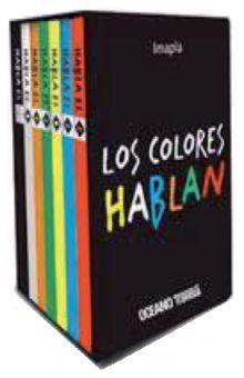 COLORES HABLAN, LOS / PD. (CAJITA CON 7 LIBROS POP UP)