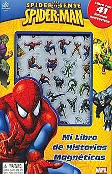SPIDERMAN. MI LIBRO DE HISTORIAS MAGNETICAS / PD.