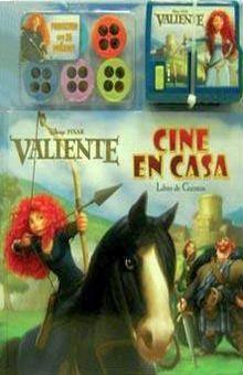 CINE EN CASA. VALIENTE / PD. (LIBRO DE CUENTOS Y PROYECTOR)
