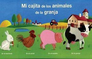 MI CAJITA DE LOS ANIMALES DE LA GRANJA / PD. (4 LIBROS)