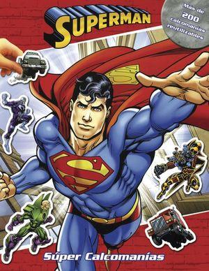 Super Calcomanías. Superman