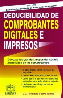 DEDUCIBILIDAD DE COMPROBANTES DIGITALES E IMPRESOS