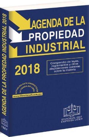 AGENDA DE LA PROPIEDAD INDUSTRIAL 2018 (LINEA ECONOMICA)