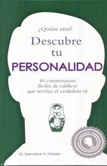 DESCUBRE TU PERSONALIDAD / PD.