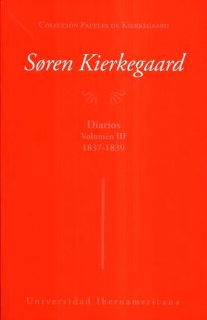 DIARIOS 1837 - 1839 / VOL III