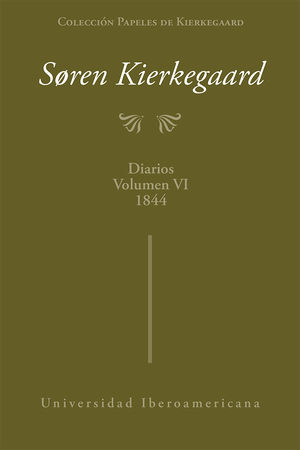 Diarios 1844 / Vol. VI