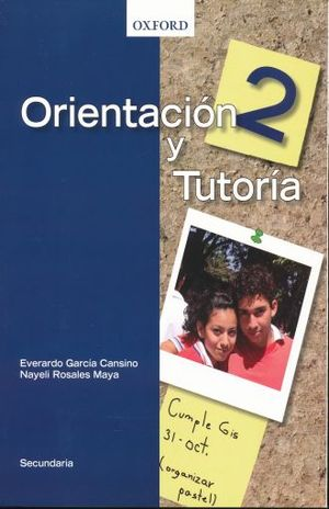 ORIENTACION Y TUTORIA 2. SECUNDARIA