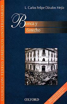 BANCA Y DERECHO (INCLUYE CD)