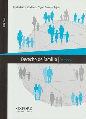 DERECHO DE FAMILIA / 3 ED.
