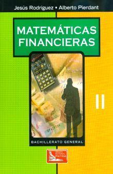 MATEMATICAS FINANCIERAS II. BACHILLERATO