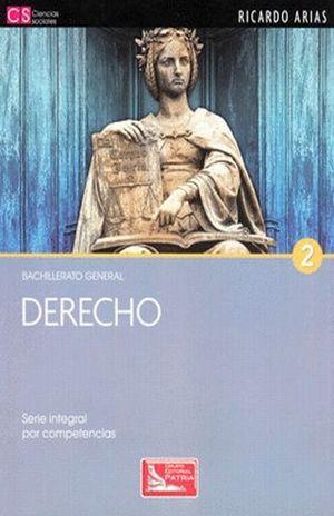 DERECHO 2. BACHILLERATO GENERAL