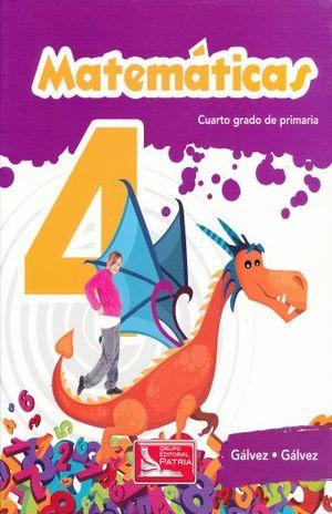 MATEMATICAS 4 PRIMARIA / 5 ED.