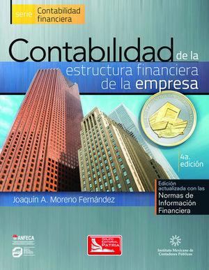CONTABILIDAD DE LA ESTRUCTURA FINANCIERA DE LA EMPRESA / 4 ED.