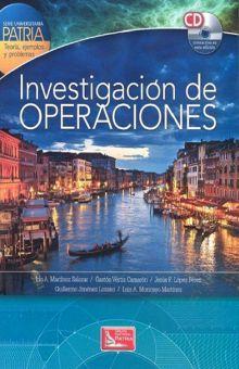 INVESTIGACION DE OPERACIONES (INCLUYE CD)