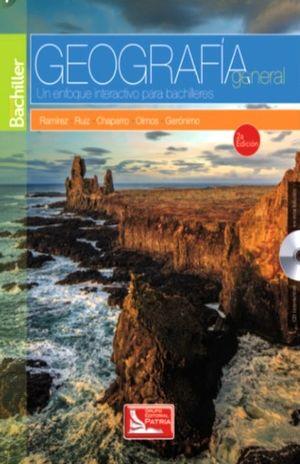 GEOGRAFIA GENERAL UN ENFOQUE INTERACTIVO PARA BACHILLERES / 2 ED. (INCLUYE CD)