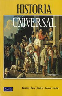 HISTORIA UNIVERSAL. BACHILLERATO / 3 ED.