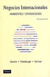 NEGOCIOS INTERNACIONALES. AMBIENTES Y OPERACIONES / 12 ED.