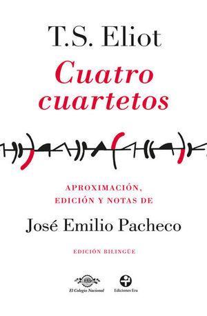 CUATRO CUARTETOS (EDICION BILINGUE)