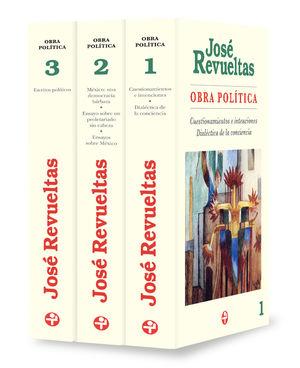 Obra política / José Revueltas / 3 vols.