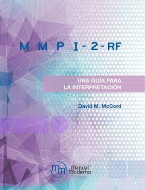 MMPI-2RF UNA GUIA PARA LA INTERPRETACION