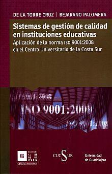 SISTEMAS DE GESTION DE CALIDAD EN INSTITUCIONES EDUCATIVAS