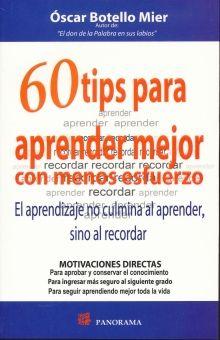 60 TIPS PARA APRENDER MEJOR CON MENOS ESFUERZO