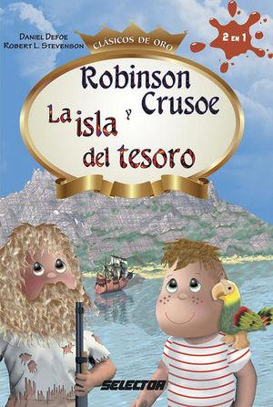 ROBINSON CRUSOE Y LA ISLA DEL TESORO