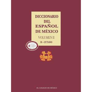 Diccionario del Español de México / Vol. 2