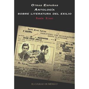 Otras Españas. Antología sobre literatura del exilio