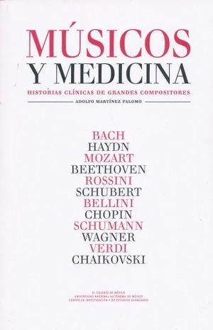 MUSICOS Y MEDICINA. HISTORIAS CLINICAS DE GRANDES COMPOSITORES