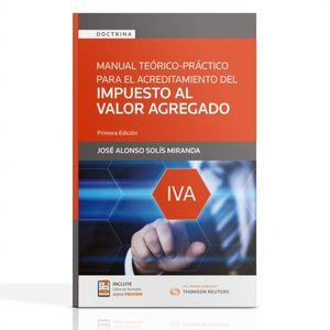 Manual teórico práctico para el acreditamiento del IVA