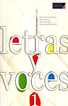 LETRAS Y VOCES 1. SECUNDARIA