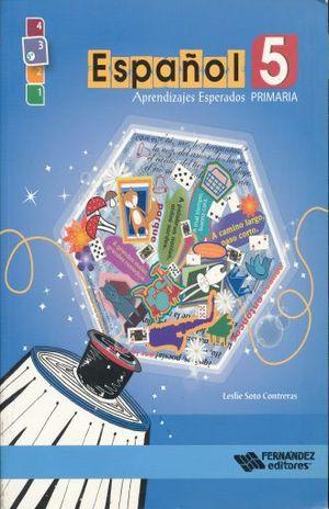 ESPAÑOL 5 APRENDIZAJES ESPERADOS. PRIMARIA (INCLUYE CD)