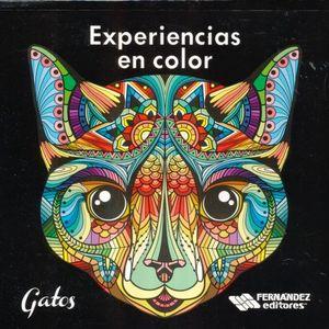 EXPERIENCIAS EN COLOR. GATOS
