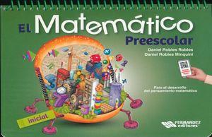 MATEMATICO PREESCOLAR INICIAL, EL. (INCLUYE CD)