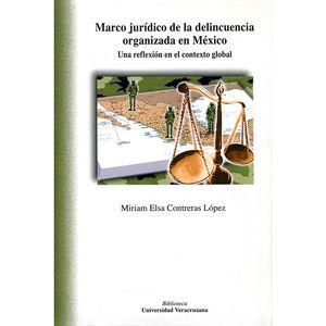 Marco jurídico de la delincuencia organizada en México