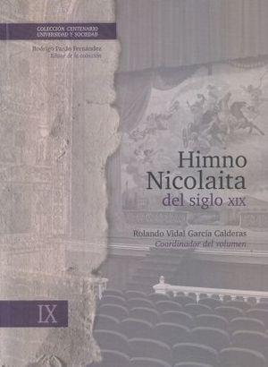 HIMNO NICOLAITA DEL SIGLO XIX / VOL. 9