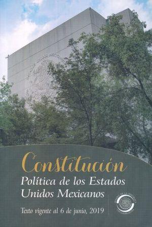 CONSTITUCION POLITICA DE LOS ESTADOS UNIDOS MEXICANOS 2019