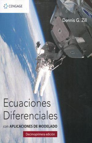 ECUACIONES DIFERENCIALES CON APLICACIONES DE MODELADO / 11 ED.