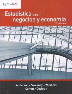 ESTADISTICA PARA NEGOCIOS Y ECONOMIA / 13 ED.