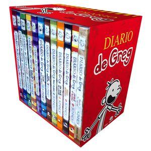 PAQ. DIARIO DE GREG (12 TITULOS)