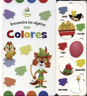 DISNEY BABY COLORES / PD.