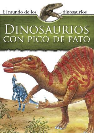 Mundo de los dinosaurios. Dinosaurios de pico de pato