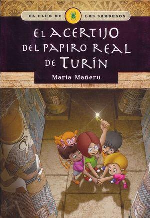 ACERTIJO DEL PAPIRO REAL DE TURIN, EL