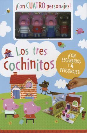 PLAYHOUSE. LOS TRES COCHINITOS / PD.