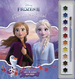 Frozen 2. ¡Un viaje mágico! (libro de posters para pintar)