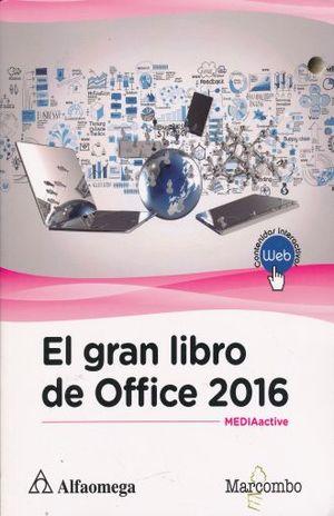 GRAN LIBRO DE OFFICE 2016, EL