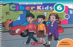 CIBER KIDS 6 TIC POR COMPETENCIAS PRIMARIA / 2 ED. (CONTENIDO INTERACTIVO WEB)